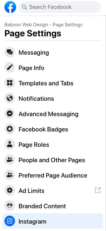 Legarea contului de Instagram la pagina de Facebook. ce e facebook business suite